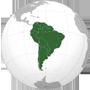 Südamerika Flag